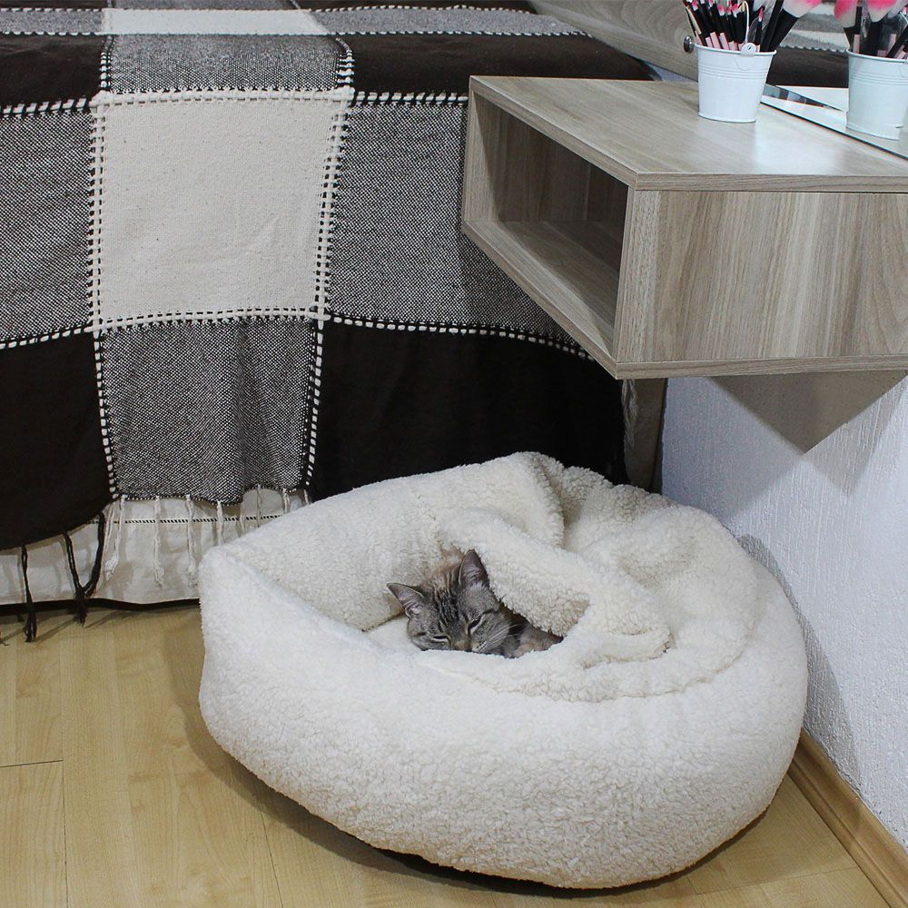Cama Aconchego Pet - Off-White