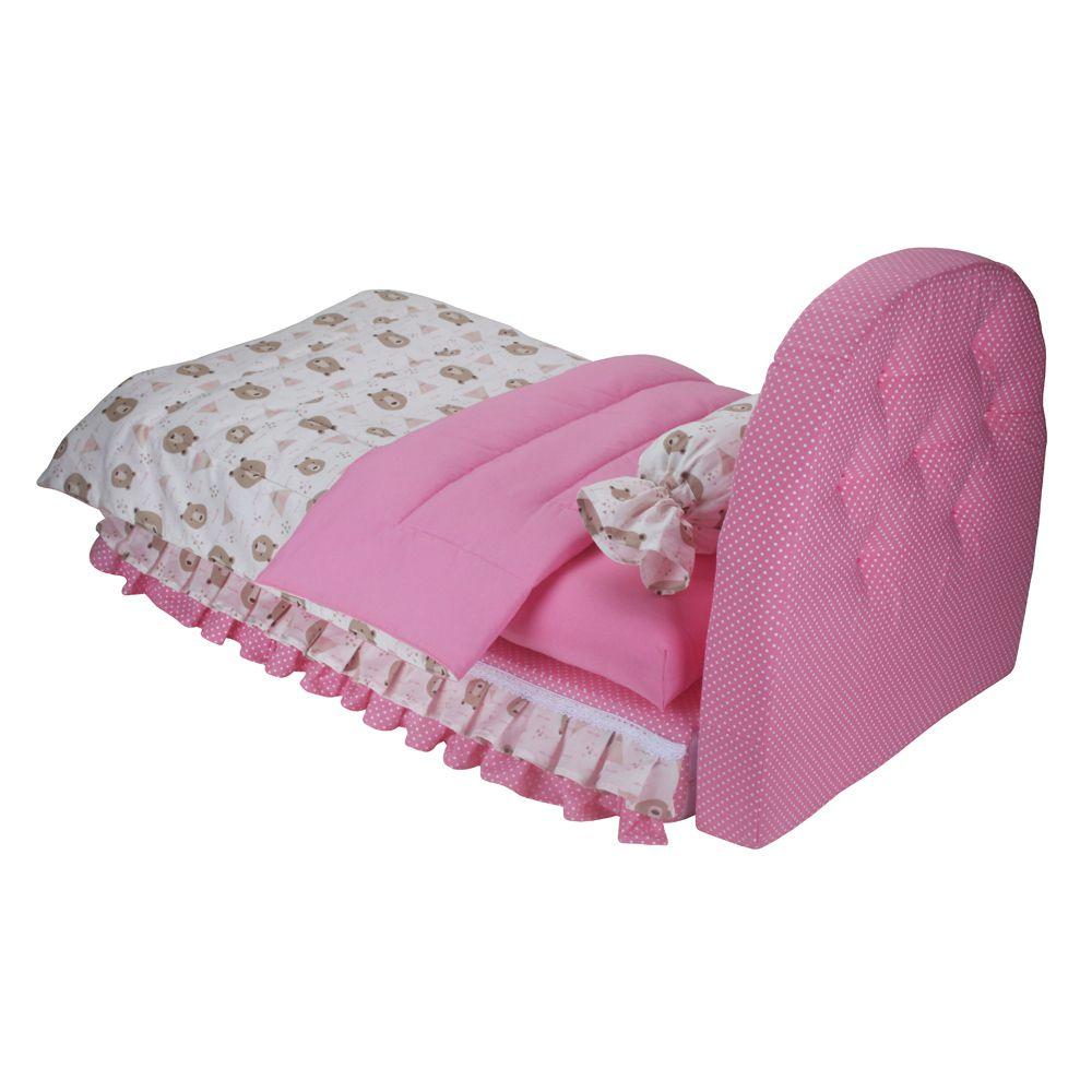 Cama Box Pet - Rosa -Tamanho único