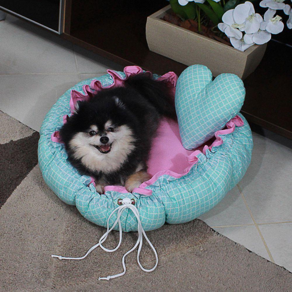 Cama Fuxico Pet - Tifanny e Rosa - Tam Único