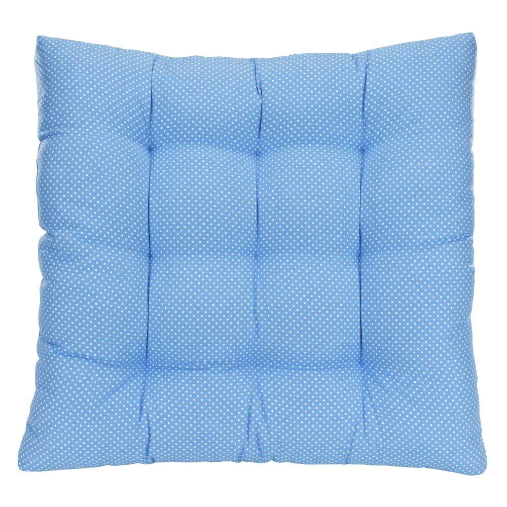 Colchonete Futon Pet Quadrado - Azul Poá - Tam Único