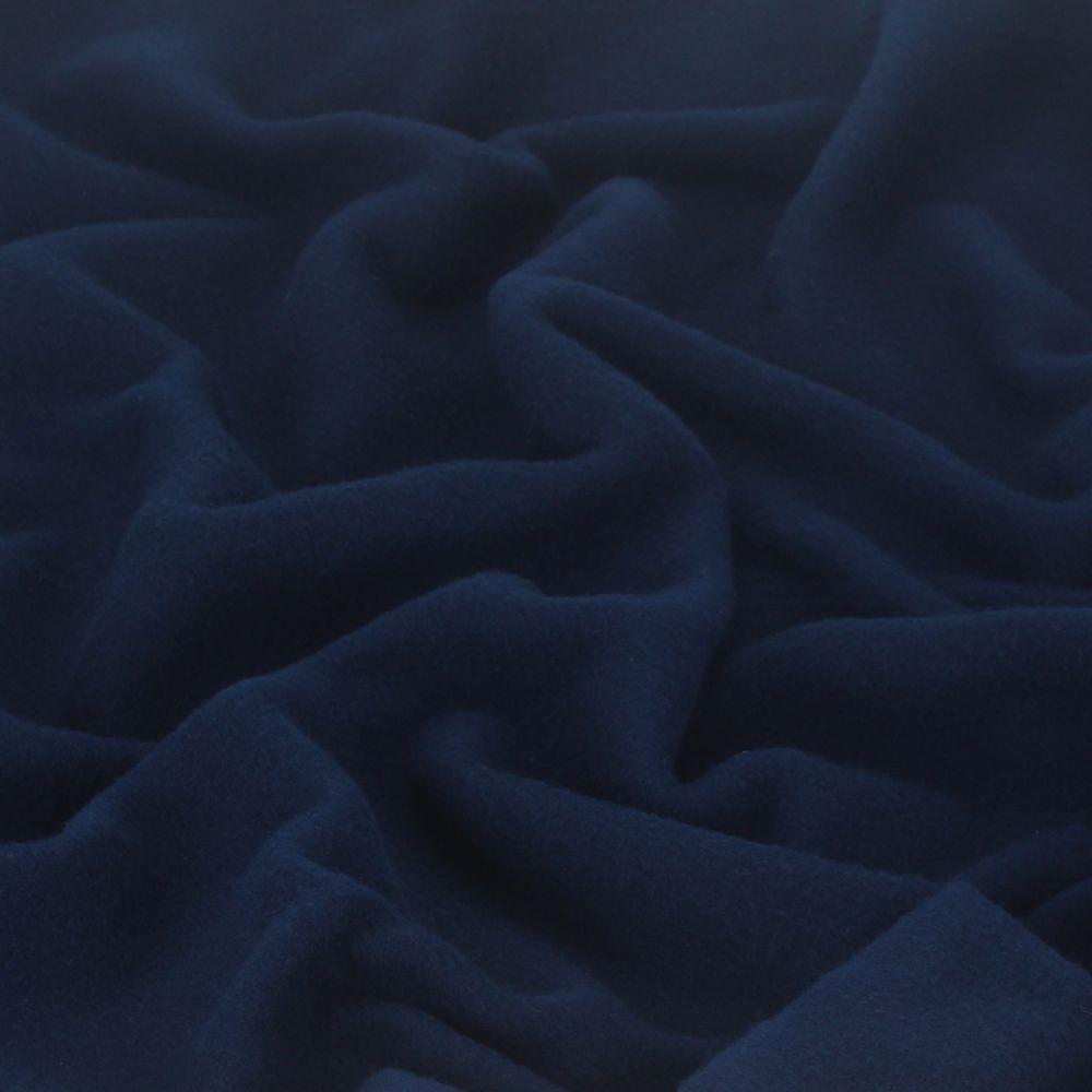 Manta em Soft - Azul Marinho - Tamanho Único