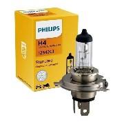 Lâmpada Philips H4 Biodo Standard 55/60w 12v 12342c1 Comum