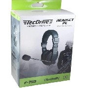 Fone Gamer Tecdrive Headset C/microfone Ps4/xboxone/pc F-750