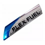Emblema Flex Fuel Flexfuel Nissan Livina March Sentra Tiida