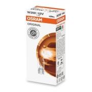 Kit 10 Lâmpadas Original Osram Esmagada 12v 3w T10 Painel