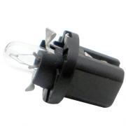 LAMPADA CONVENCIONAL 12V 12V 1,2W B8.3D PRETA MINIATURA BASE PLASTICA T5 UNIVERSAL HELLA