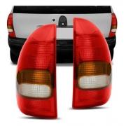 Par De Lanterna Corsa Hatch 4p / Wagon / Pick Up 1996 À 1999