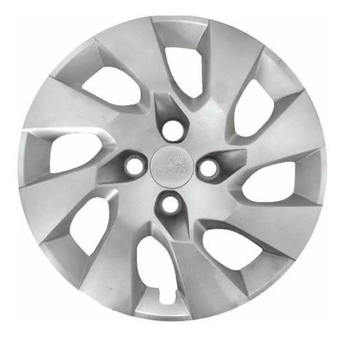 Calota Aro 14 Gm Chevrolet Onix/prisma 4 Furos 2013 À 2016