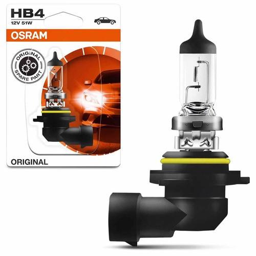 Lâmpada Halogenas Para Faróis Osram Hb4 9006 12v 55w