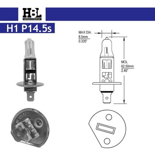 Lâmpada H1 12v 55w Bi-iodo Cod. 7111 Hbl
