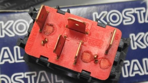 Botão Interruptor De Vidro Eletrico Simples Dianteiro Vw
