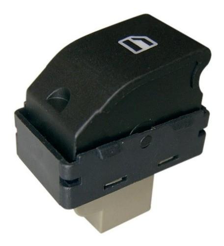 Botao Interruptor De Vidro Elétrico Gol G4 G5 G6 Fox 2 Estág