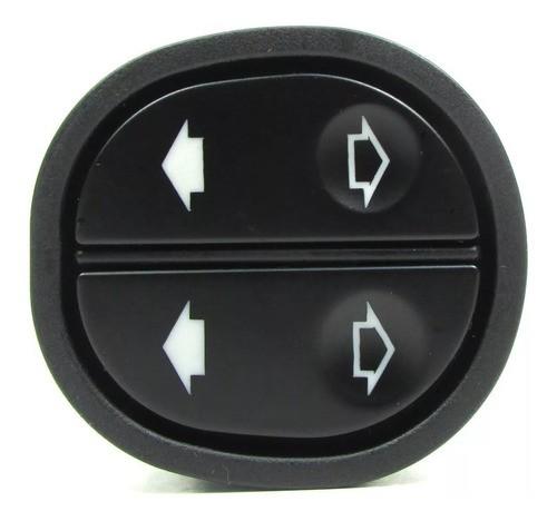 Interruptor Botão Vidro Elétrico Duplo Ford Ka Courier Fiest