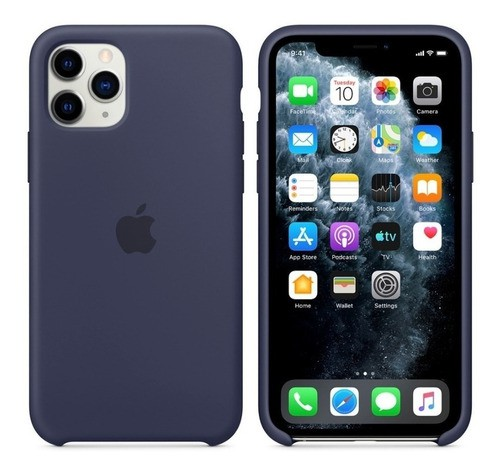 Capa Capinha Silicone C/ Logo Apple iPhone 11
