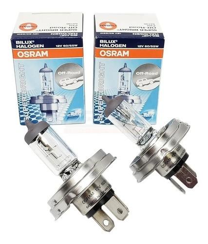 Par Lâmpada Original Osram H5 Bi-iodo 12v 60/55w