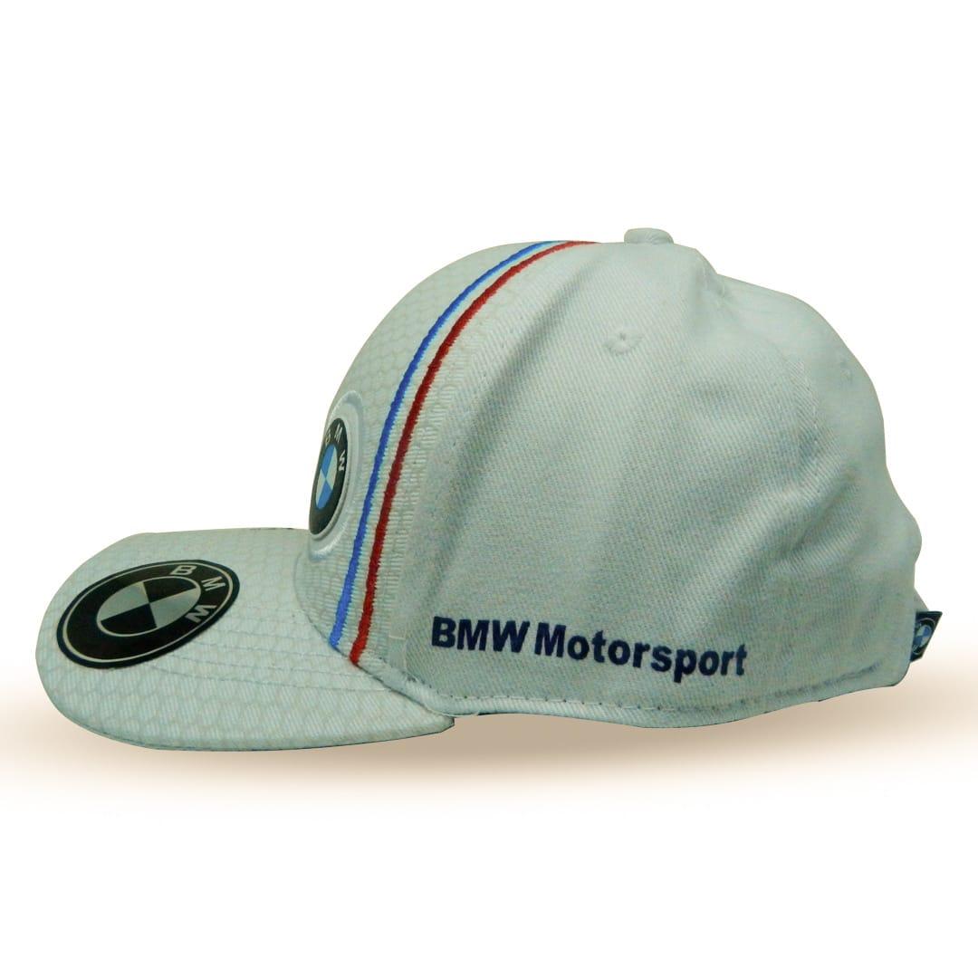 BONÉ PUMA BMW MOTORSPORT ABA CURVA -BRANCO