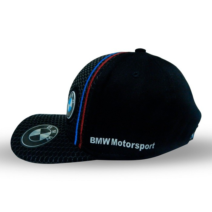 BONÉ PUMA BMW MOTORSPORT ABA CURVA - PRETO