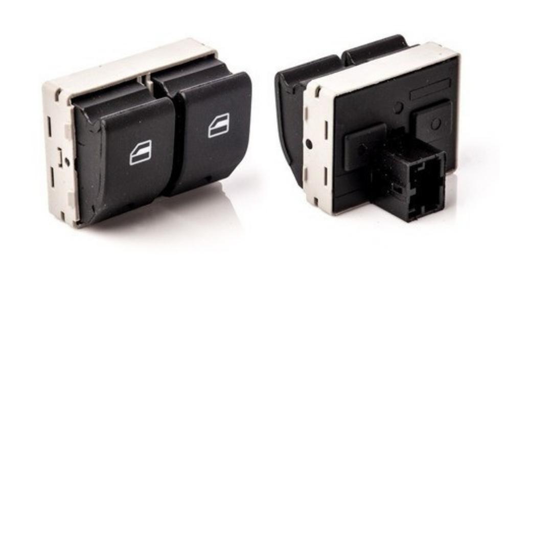 Botão Interruptor Do Vidro Eletrico Duplo Dianteiro Vw Dial