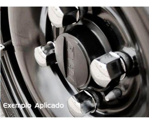 Capa Cromada Parafuso Roda 17mm (tampa)