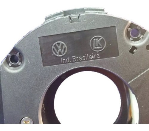 Chave Seta Gol G3 G4 Com Logo Vw Original