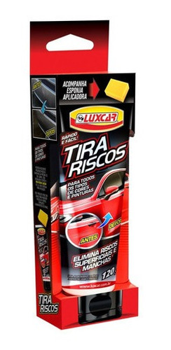 Elimina Riscos 120g Luxcar Remove E Tira Riscos Superficiais