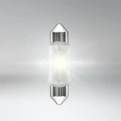 KIT 10 LAMPADAS  CONVENCIONAIS 12V 35MM C5W 12V 5W TORPEDO UNIVERSAL HELLA