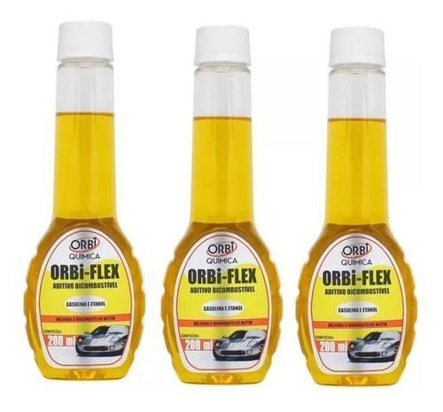 Kit 12 Aditivos Combustível Flex Diminui O Consumo Orbi
