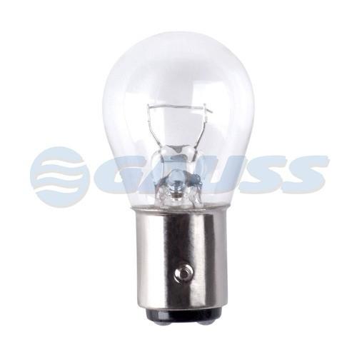 Lampada 2 Pólos 12v 21/5w Gauss 1034 Cx C/10 Unidades