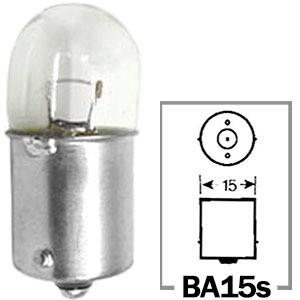 LAMPADA CONVENCIONAL 12V 12V 10W BASE BA15S MINIATURA 67 UNIVERSAL HELLA