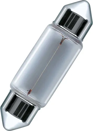 LAMPADA CONVENCIONAL 12V 3W 28MM TORPEDO UNIVERSAL