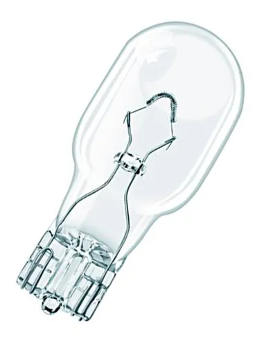LAMPADA CONVENCIONAL 12V ESMAGADA 16W BASE VIDRO T5