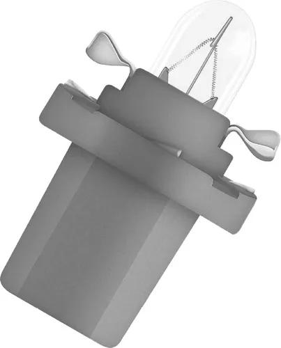 LAMPADA CONVENCIONAL 24V 1,2W CINZA MINIATURA BASE PLASTICA T5