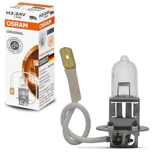LAMPADA CONVENCIONAL 24V 70W STANDARD FAROL H3