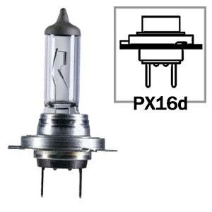 LAMPADA CONVENCIONAL  (HIGHT PERFORMACE 2.0) 12V 55W LUZ MAIS INTENSA (BLISTER COM 2 LAMPADAS) FAROL H7 UNIVERSAL HEL