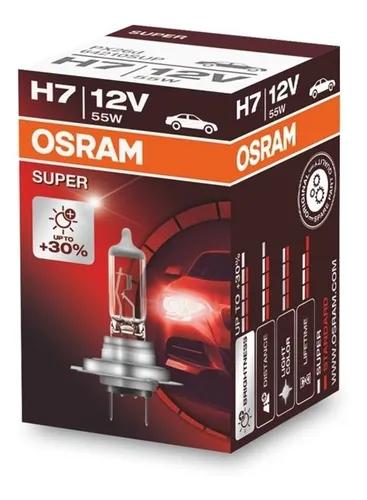 LAMPADA CONVENCIONAL SUPER 12V 55W (30% MAIS LUZ) FAROL H7