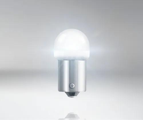PAR LAMPADAS LED LANTERNA BRANCA R5W 12V OSRAM