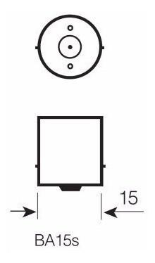 Lampada Miniatura 67 Universal R5w 12v 5w Osram 5007