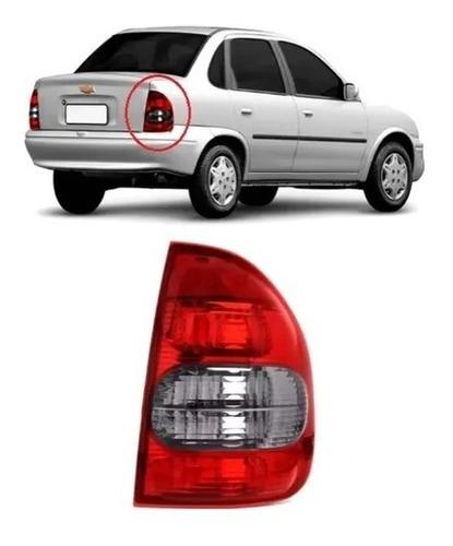 Lanterna Traseira Corsa Sedan Classic 2000 A 2010 Fumê Ld
