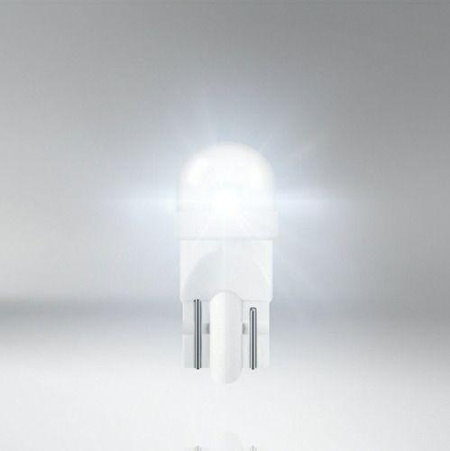 Par De Lâmpadas Osram W5w Ledriving 0,5w 12v B Cool White