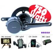 Motor Central Bafang BBS02 48V 750w E-bike Bicicleta Elétrica