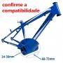 Kit Motor Central TSDZ2 250W C Bateria 360 W/h iPedal E-bike