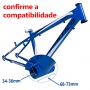 Kit Motor Central TSDZ2 350W C Bateria 468 W/h iPedal E-bike