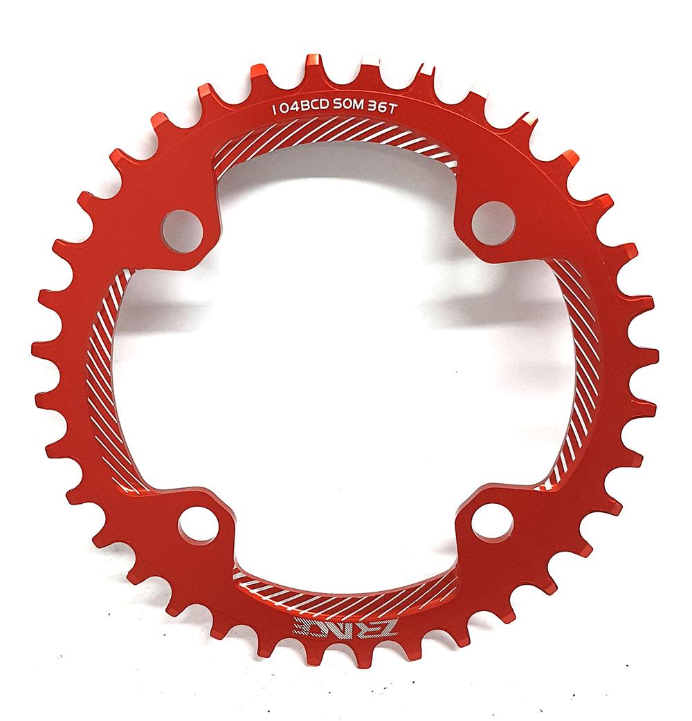 Coroa 36 Dentes Narrow Wide Bcd 104mm E-bike iPedal