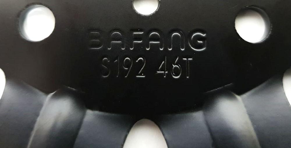 Coroa 46 Dentes BBSHD E-Bike Bafang Mid Drive iPedal