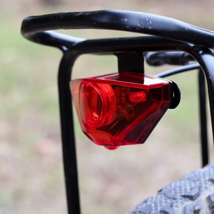 Farol 200 Lumens p/ Bicicleta Elétrica 36V/48V E-Bike iPedal