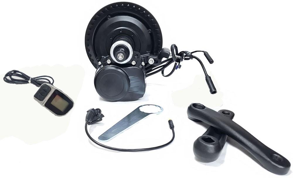 Kit Motor Central TSDZ2 36V 250W Com Bateria 360 W/h iPedal E-bike