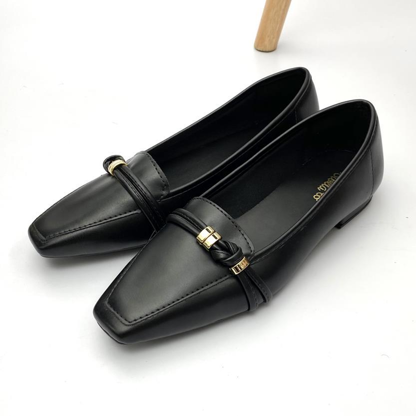 Sapato Feminino Mocassim Cor Preto