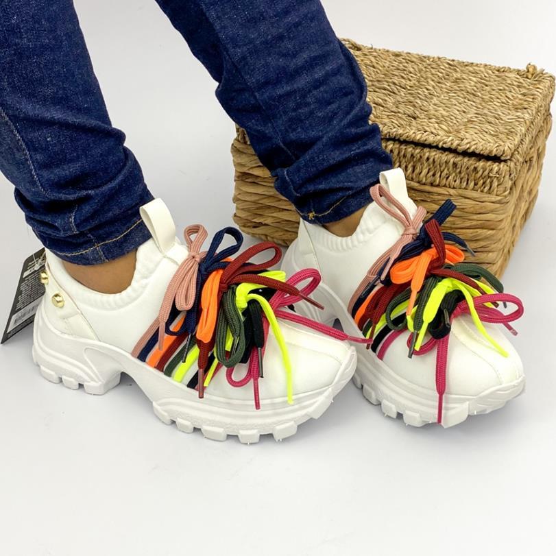Tênis Feminino Various Shoelaces Bibela