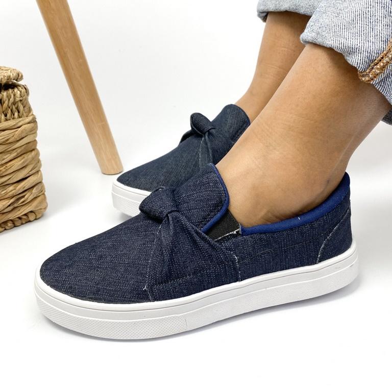 Tênis Jeans No Laces Bibela