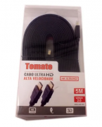 Cabo HDMI 5 Metros 2.0 4k Ultra HD 3d Mhd-4005 Tomate
